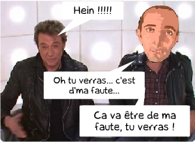 johnny hallyday insulte les homos,alain delon,le grand journal,johnny au grand journal,johnny et la boite à questions,gay,homo,johnny traite les PD,le shaker de cyril