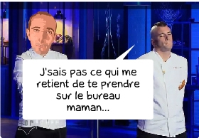 top chef,norbert,m6,top chef norbert,le shaker de cyril,les bronzés,phrases de norbert,dialogue des bronzés,interlude,versus,vs