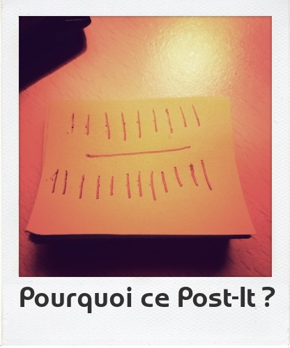 post-it,souvenir,table basse,leshaker,barres,compter,math,